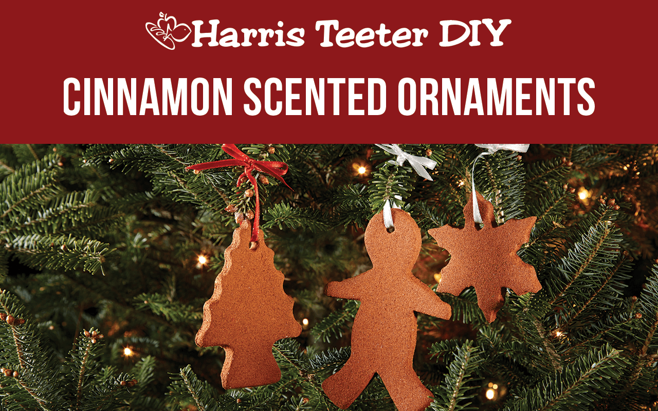 DIY Cinnamon Scented Ornaments