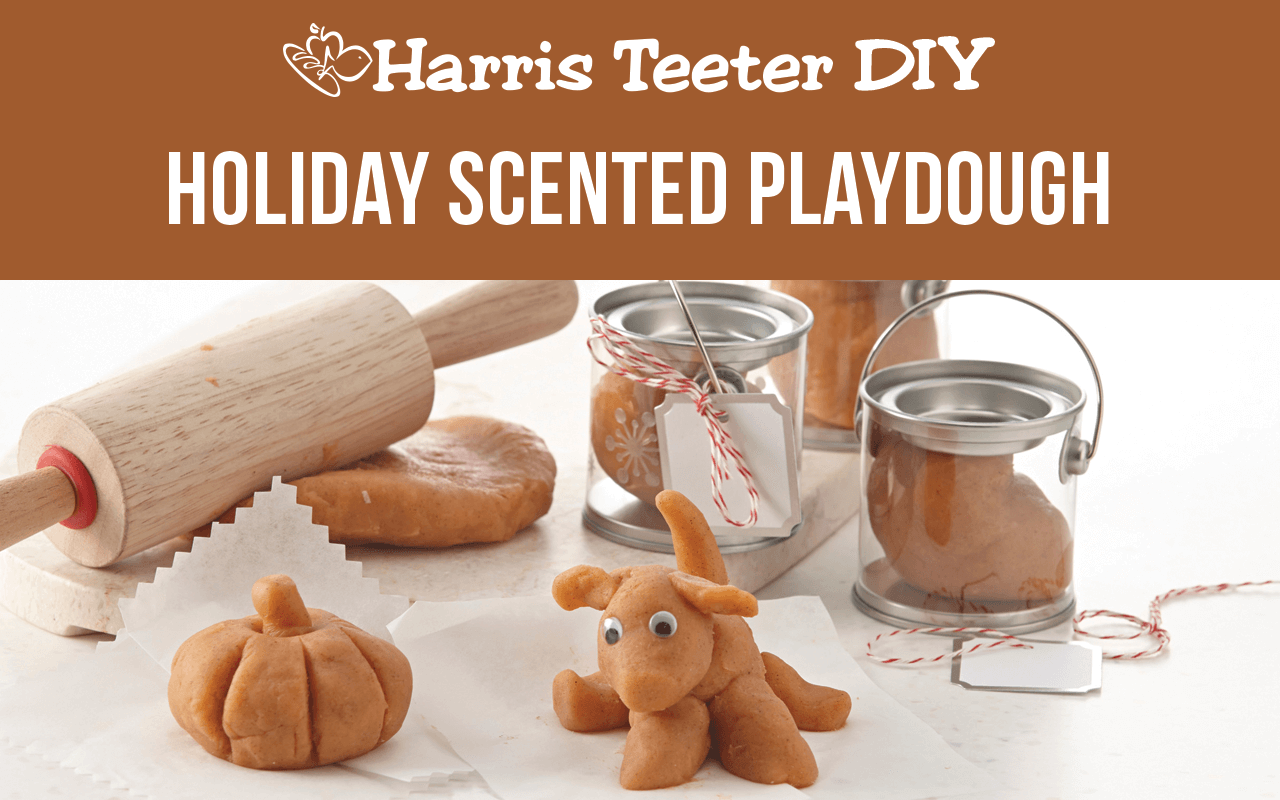 Holiday Scented Play Dough