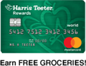 Harris Teeter Credit Card, earn FREE GROCERIES!