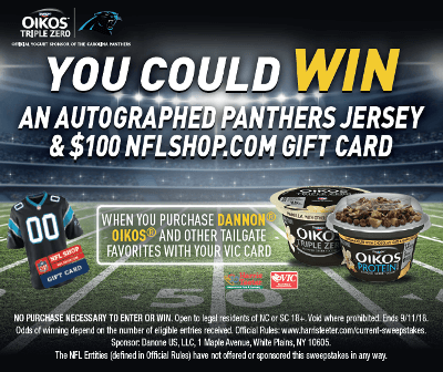 Panthers NFL Sweepstakes