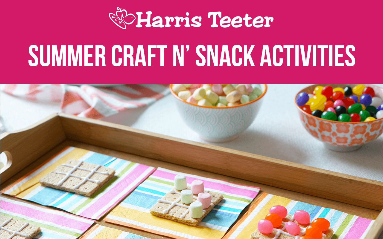 Summer Craft n' Snack Activities