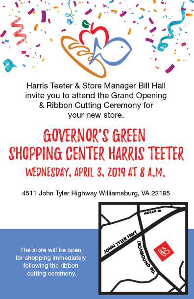 312b335af Grand Opening of Harris Teeter Store in Williamsburg, Va. - Harris ...