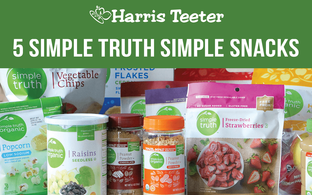 Five Simple Truth Simple Snacks