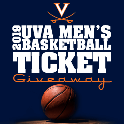 UVA Men's Basketball Ticket Giveaway