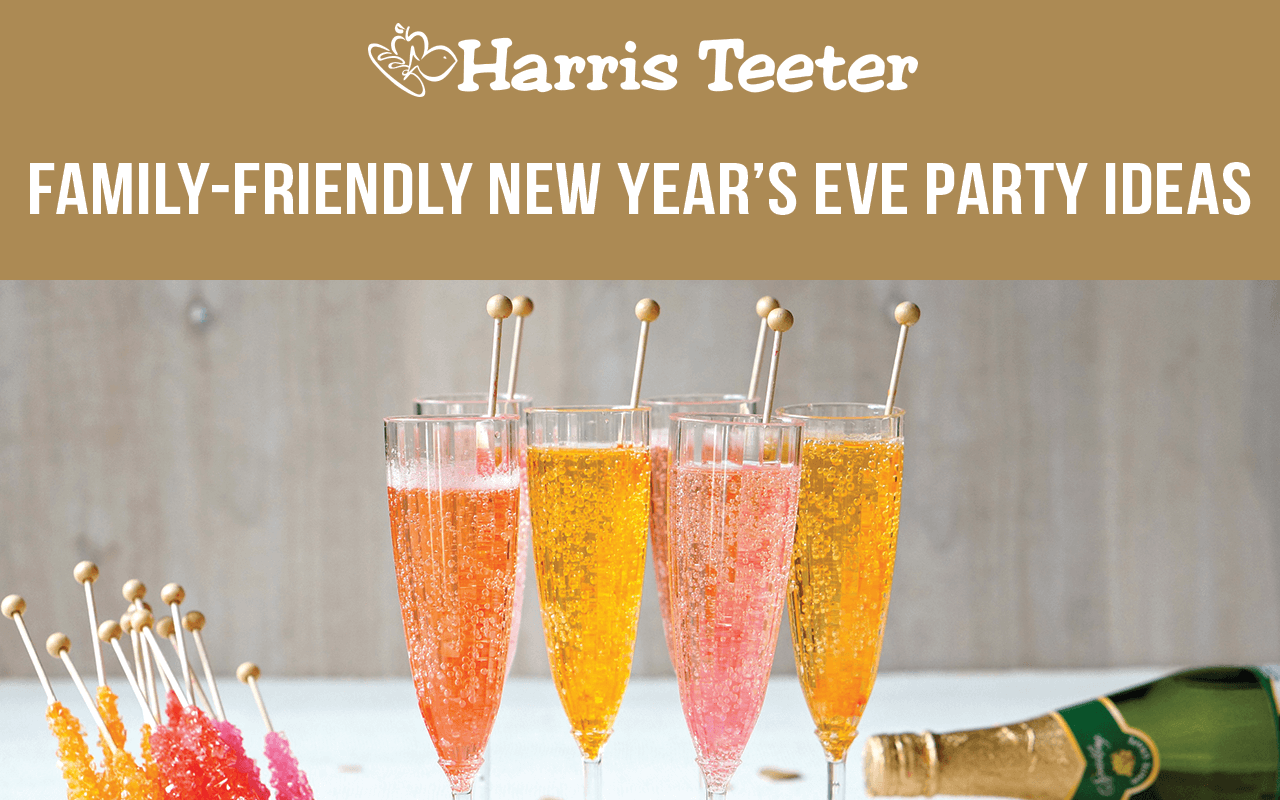 Family Friendly New Year's Eve Party Ideas