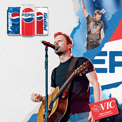 Pepsi and Dierks Bentley