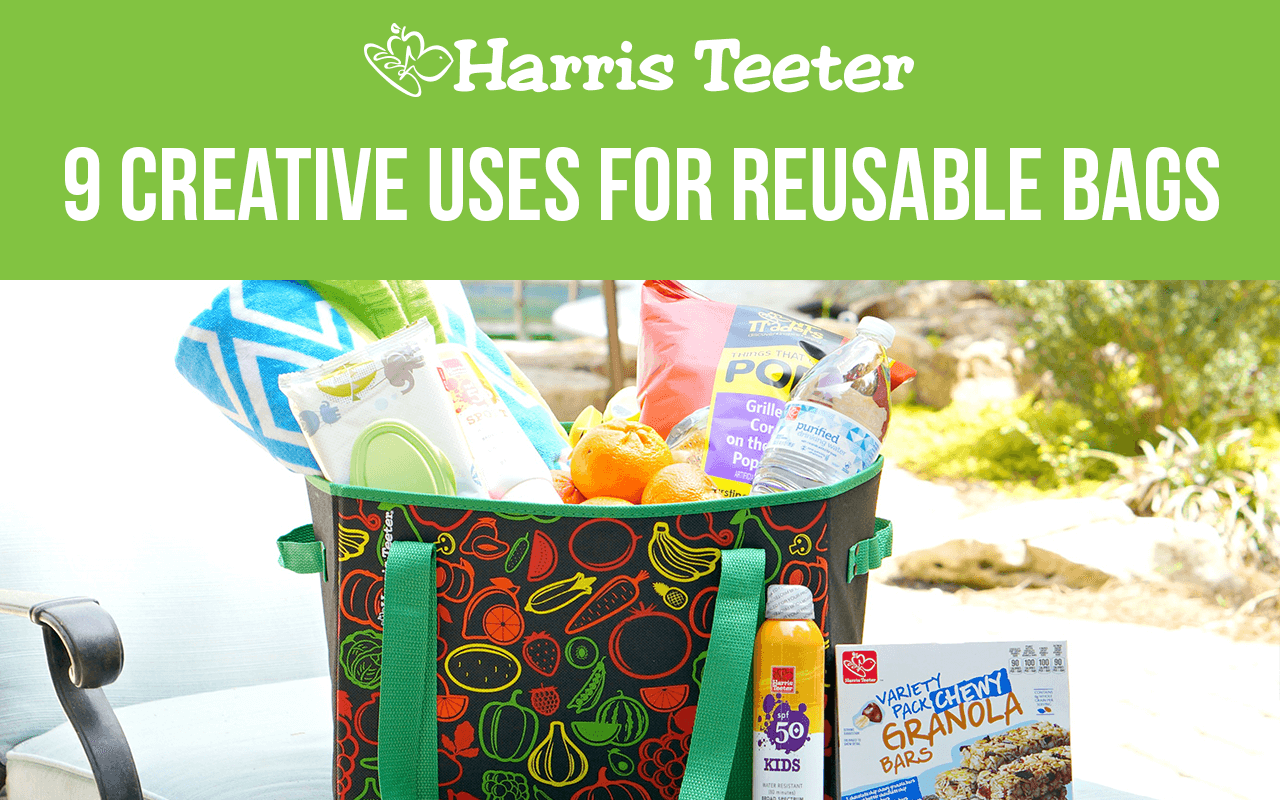 9 Creative Uses for Reusable Bags