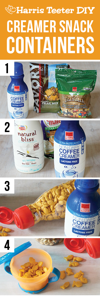 Creamer Snack Containers