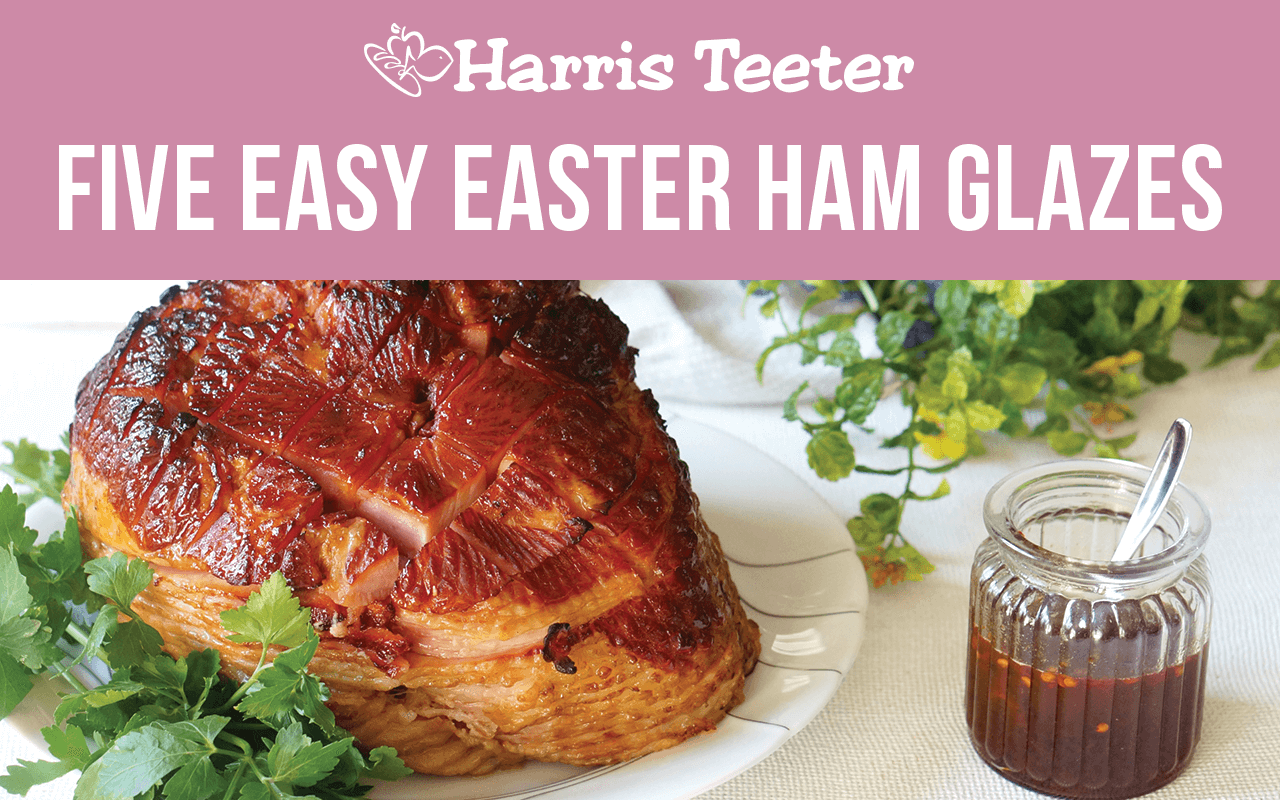 5 Incredibly Easy Easter Ham Glaze