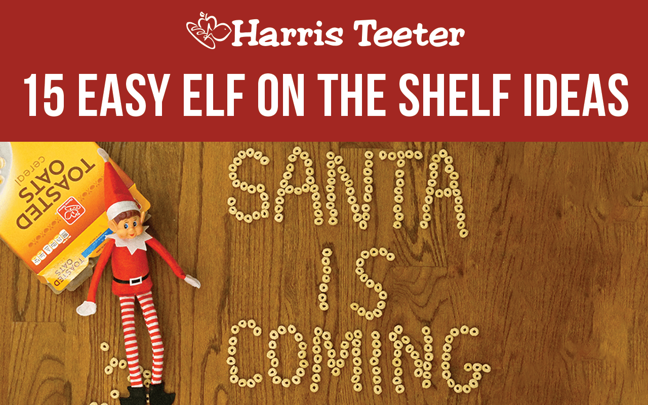 15 Easy Elf on the Shelf Ideas