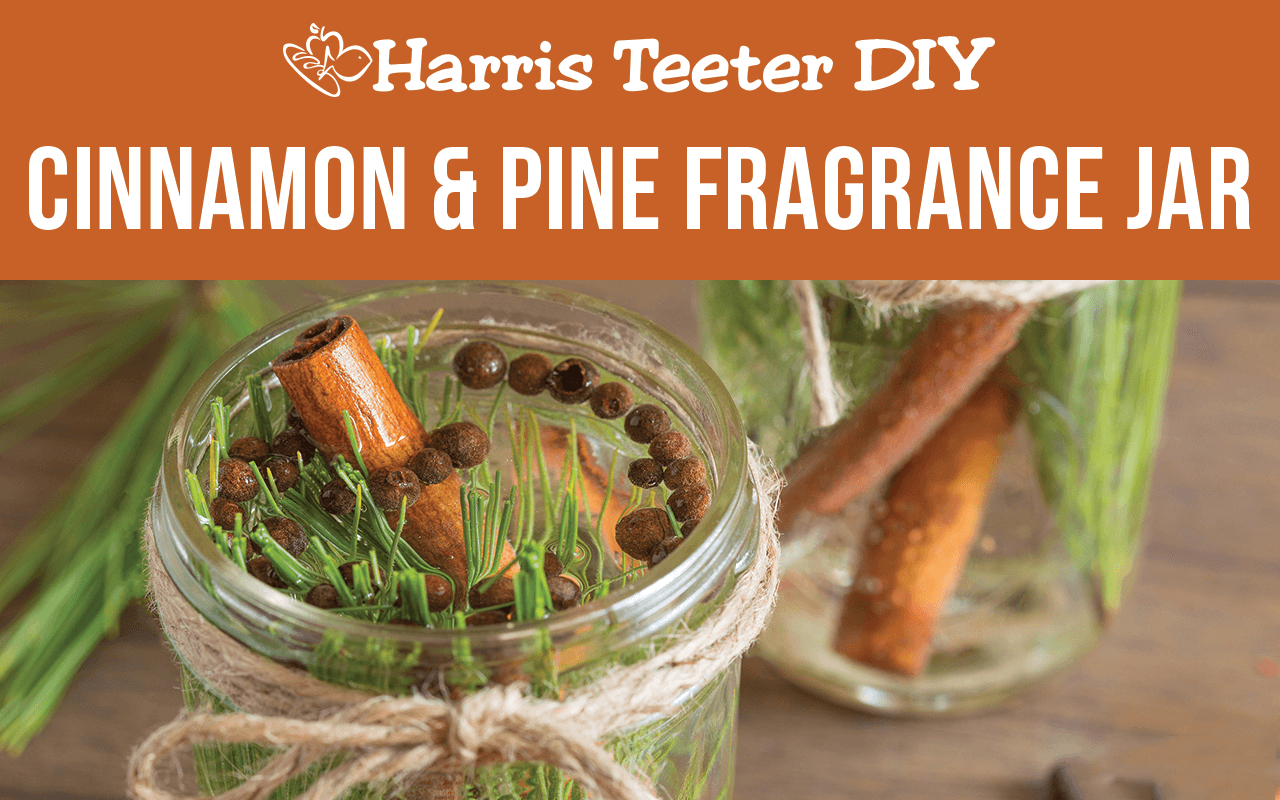 Cinnamon & Pine Fragrance Jar