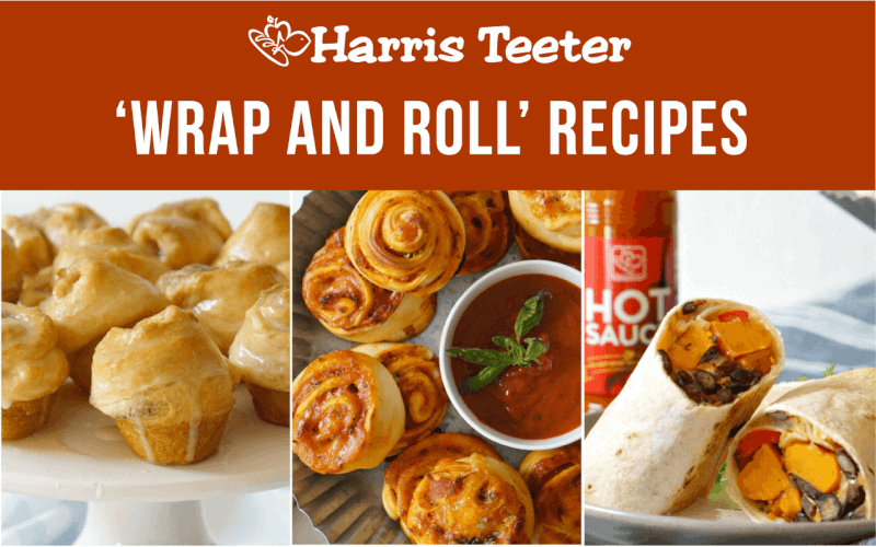 Wrap and Roll Recipes