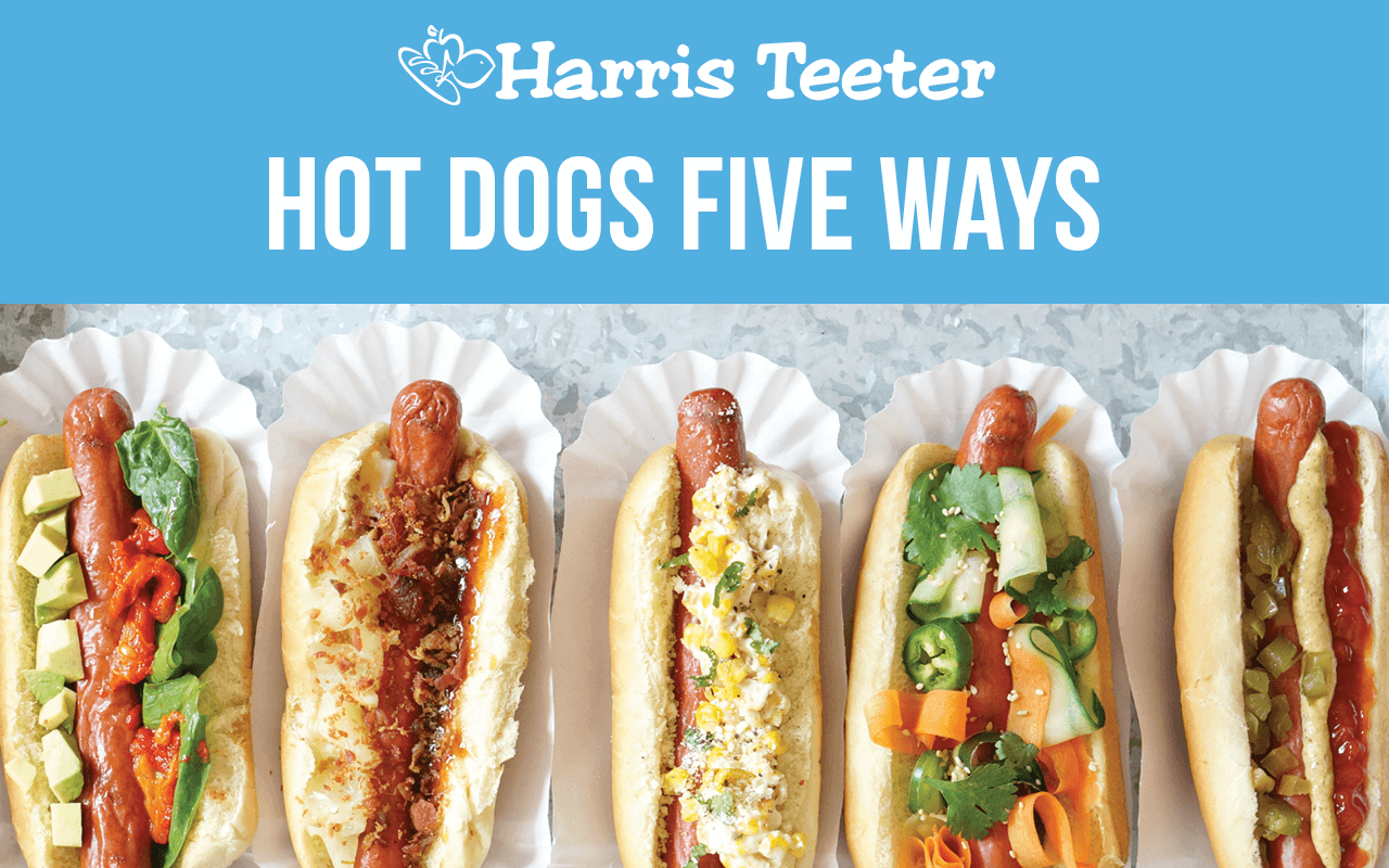 Hot Dogs Five Ways