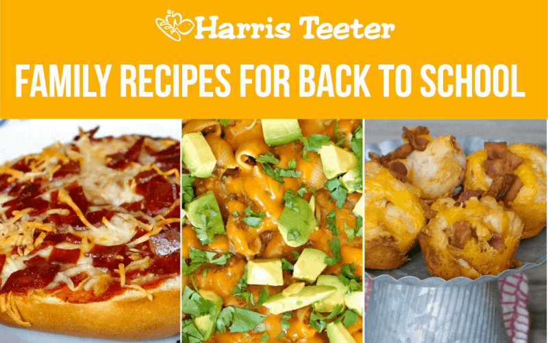 Family Recipes for Back to School