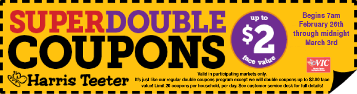 How to double a coupon
