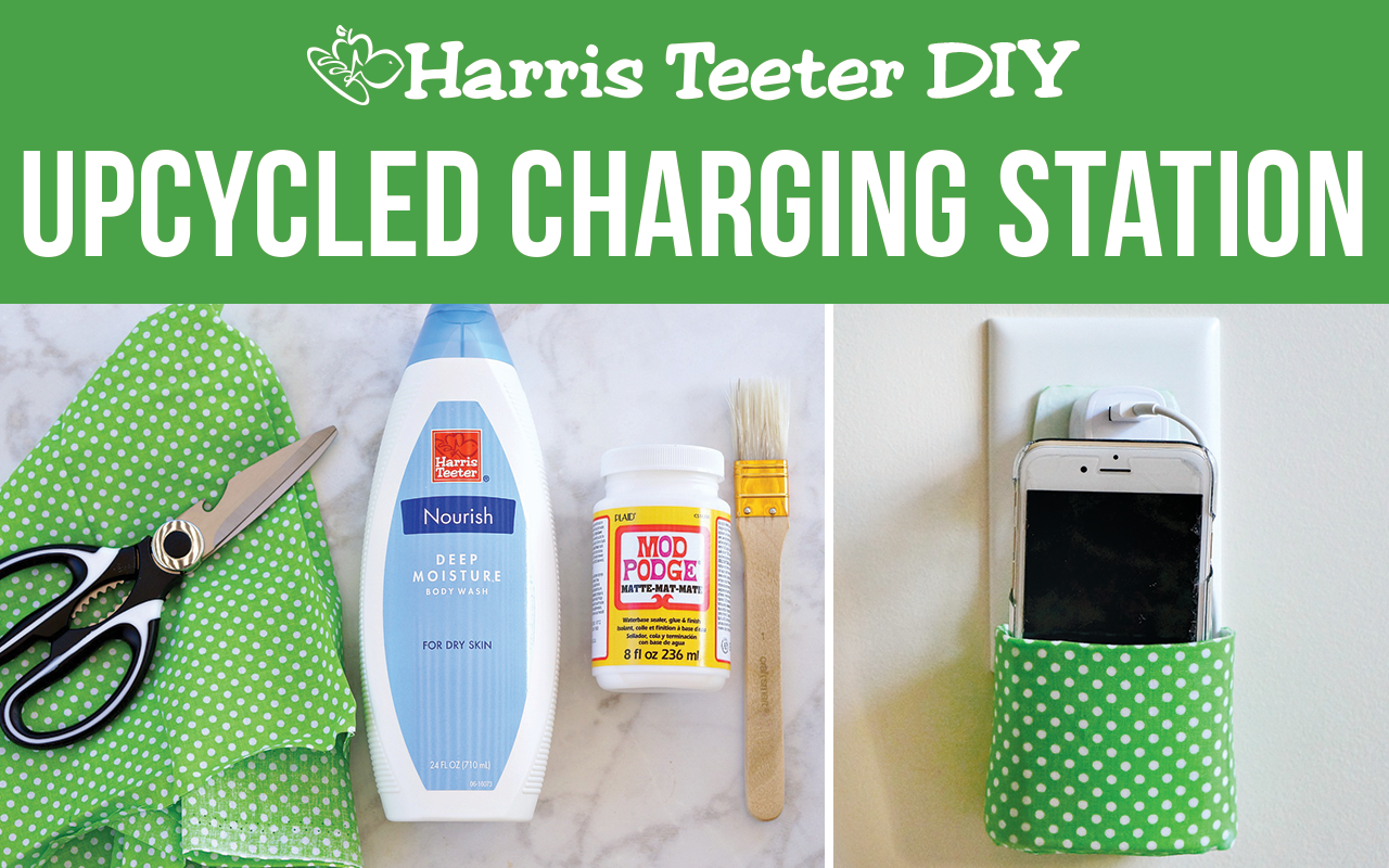 Upcycled Charging Station
