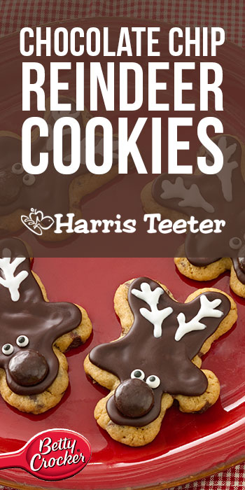 chip reindeer cookies ingredients 1 pouch betty crocker chocolate chip ...