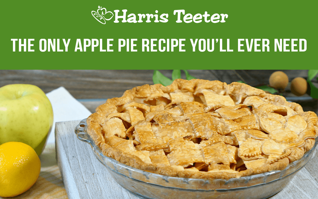 The only apple pie recipe you'll ever need