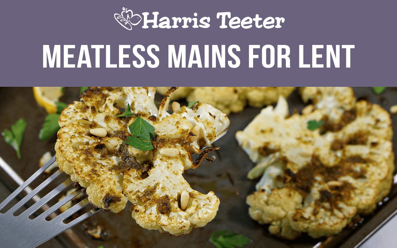 Meatless mains for lent recipe