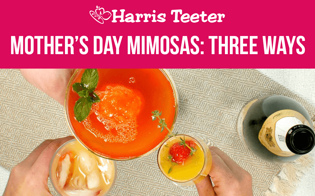 Mother's Day Mimosas: 3 Ways