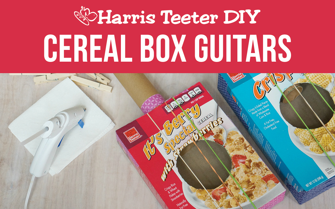 Cereal Box Guitars