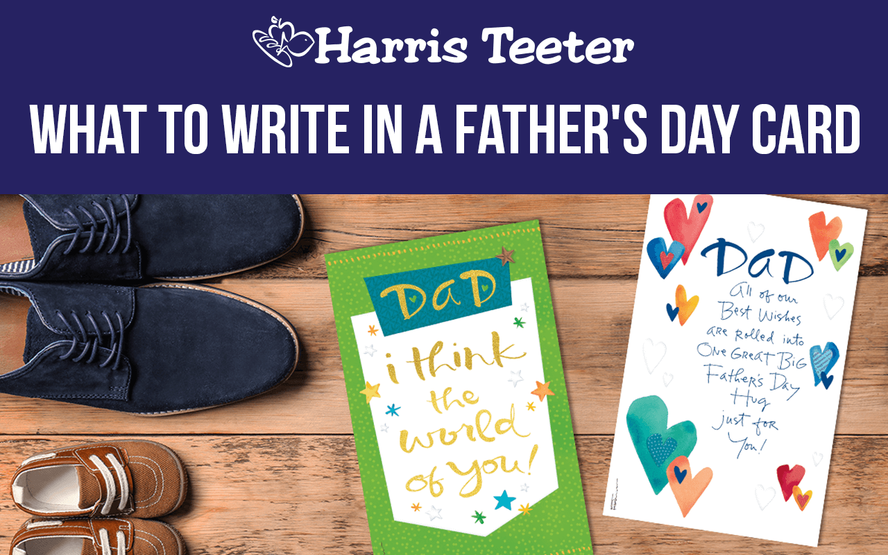 What to Writes in a Father's Day Card