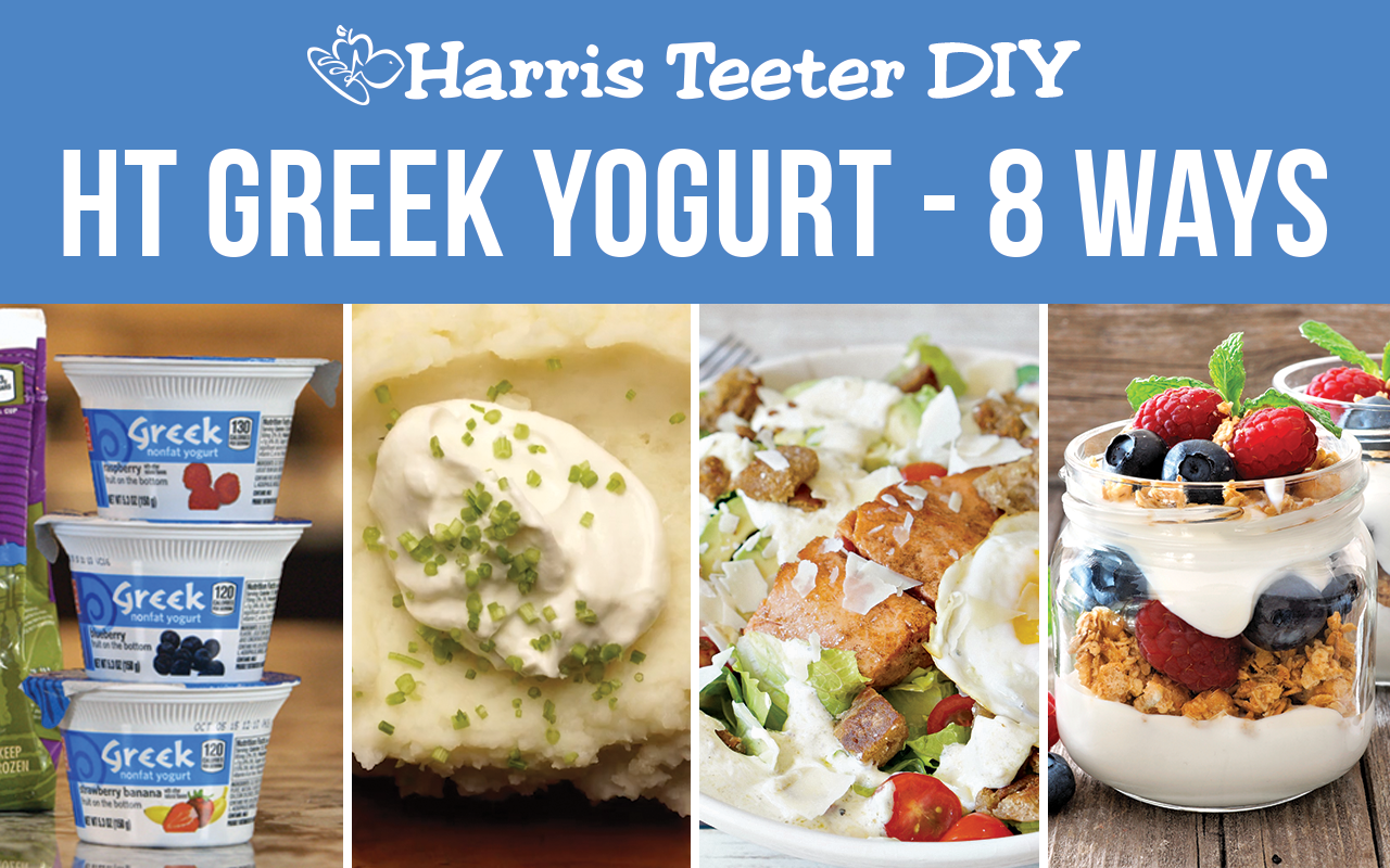 HT Greek Yogurt Eight Ways