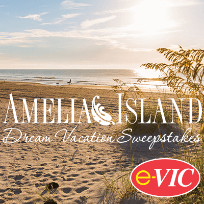 2018 e-VIC Amelia Island Dream Vacation Sweepstakes