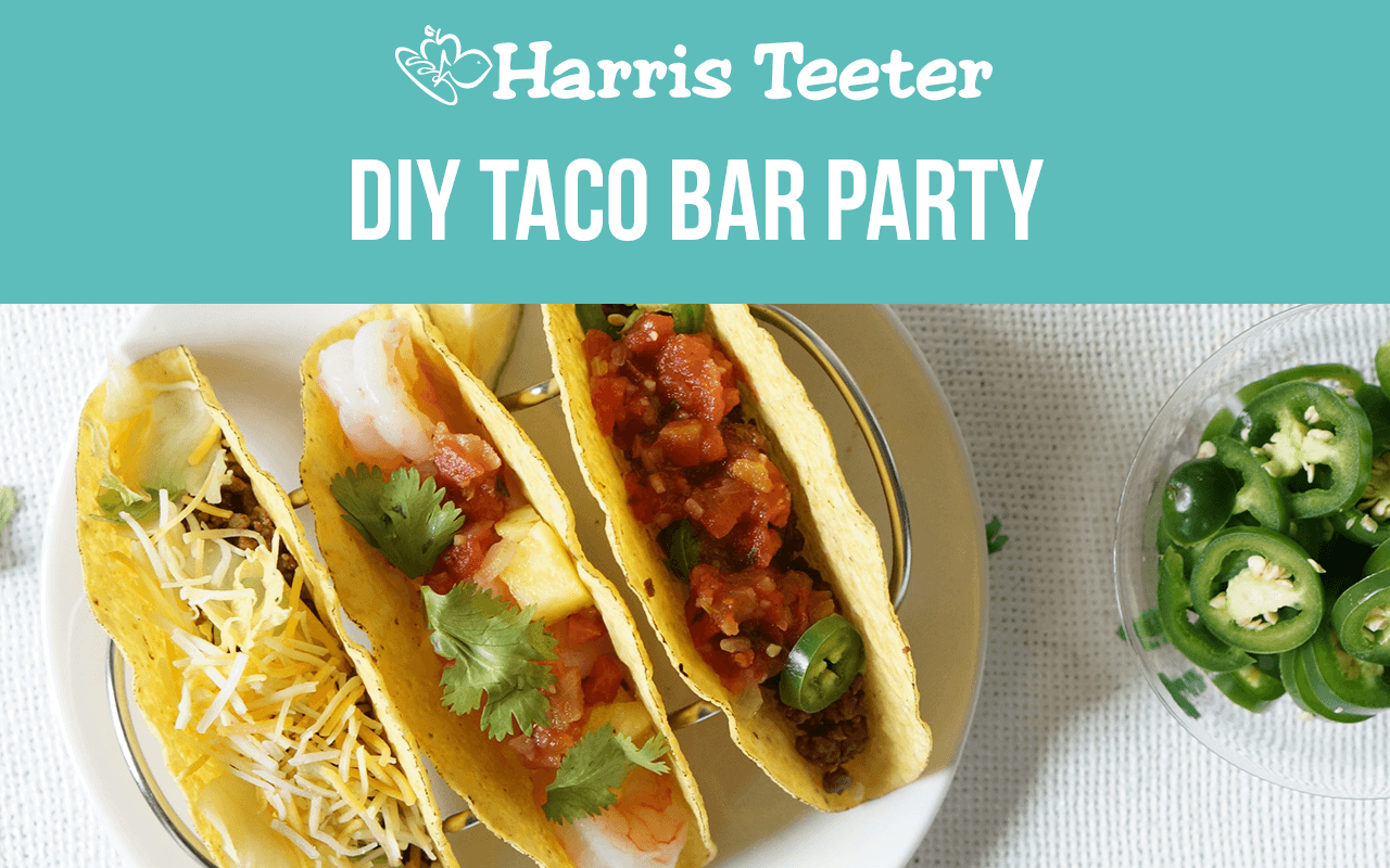 DIY Taco Bar Party